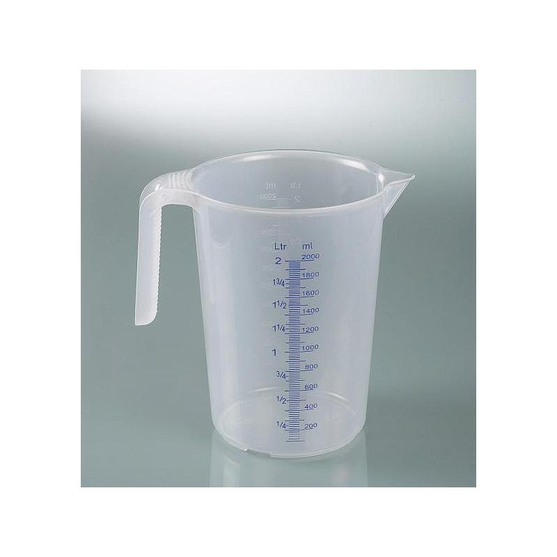 Tasse à mesurer industrielle - avec poignée - empilable - 5000 ml - Bürkle