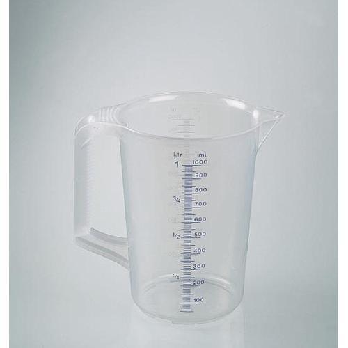 Tasse à mesurer industrielle - poignée fermée - 1000 ml - Bürkle