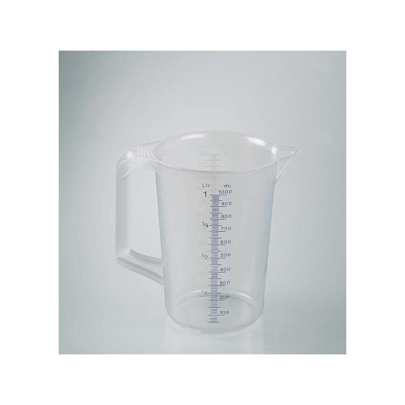 Tasse à mesurer industrielle - poignée fermée - 3000 ml - Bürkle