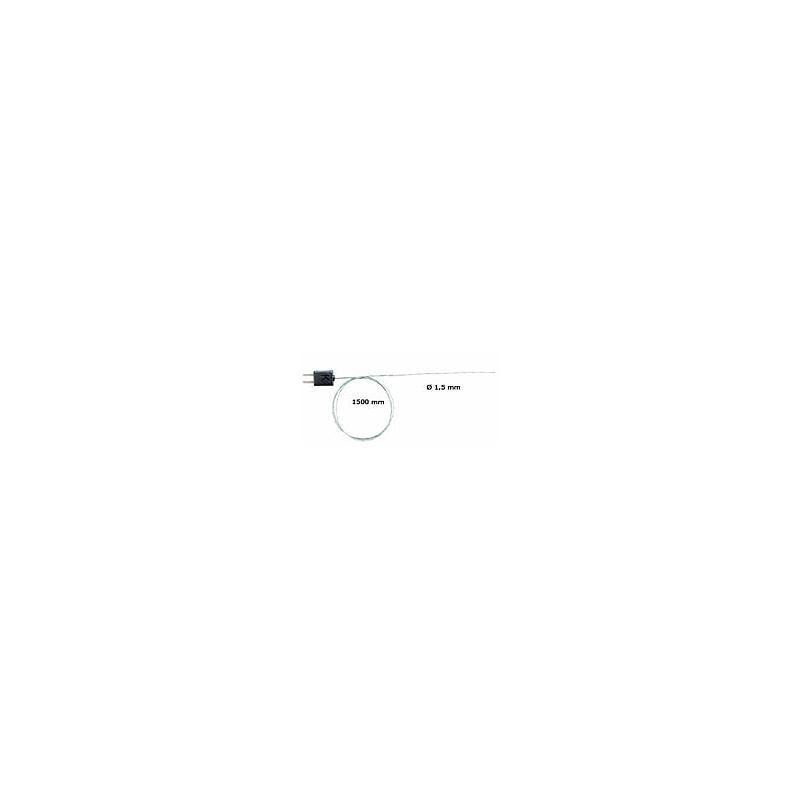 TES-06020645 - Thermocouple isolé soie de verre