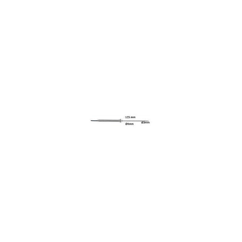 TES-06132211 - Sonde alimentaire robuste en acier inox