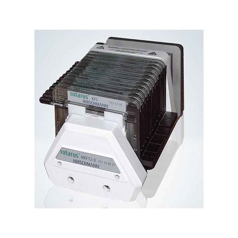 Tête de pompe multicanale Rotarus® MKF 12-8 - 12 canaux, 8 galets - Hirschmann