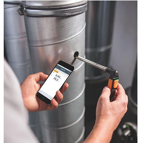 Thermo-anémomètre avec commande smartphone 405i - Testo