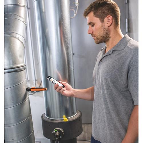 Thermo-hygromètre avec commande Smartphone 605i - Testo