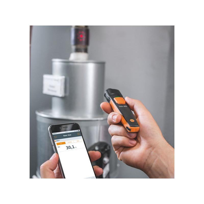 Thermomètre à infrarouges avec commande Smartphone 805i - Testo