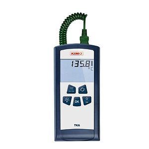 Thermomètre à sondes interchangeables thermocouple K - 1 canal - TKA - KIMO