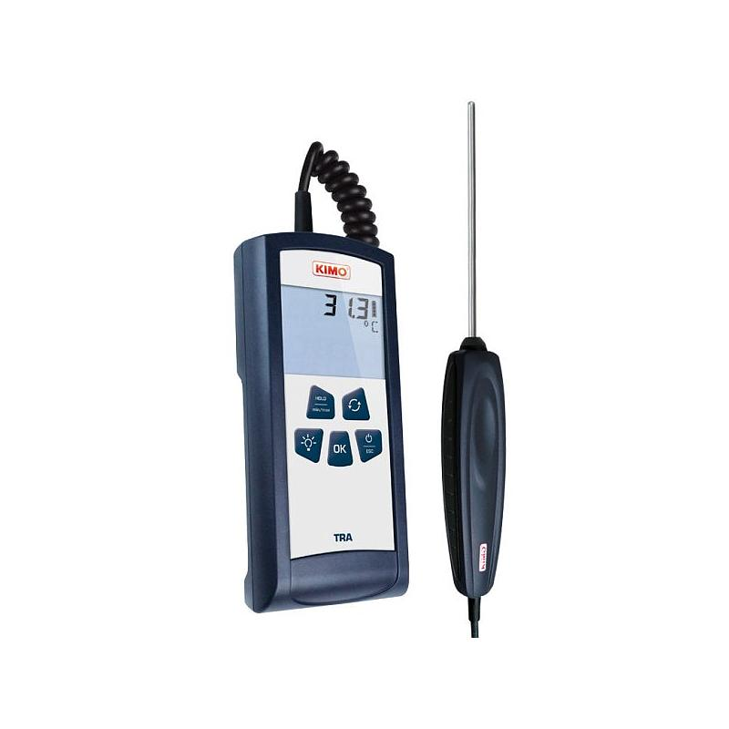 Thermomètre portable PT 100 - 2 canaux -TRB - Kimo