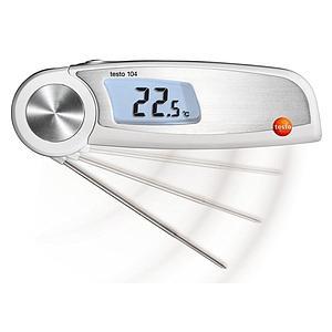 Thermomètre pour mesure à coeur repliable étanche Testo 104 - TESTO