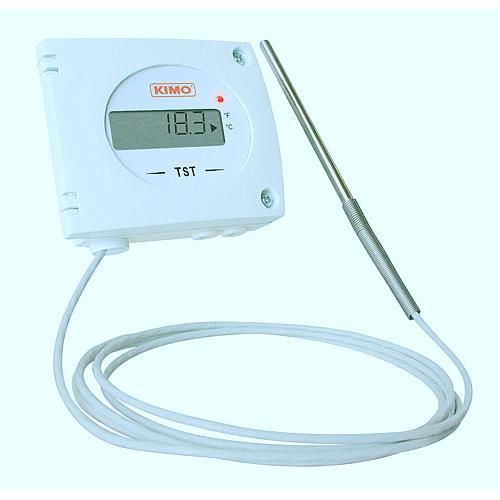 Thermostat TST avec sonde entrée PT100 sur bornier - Kimo