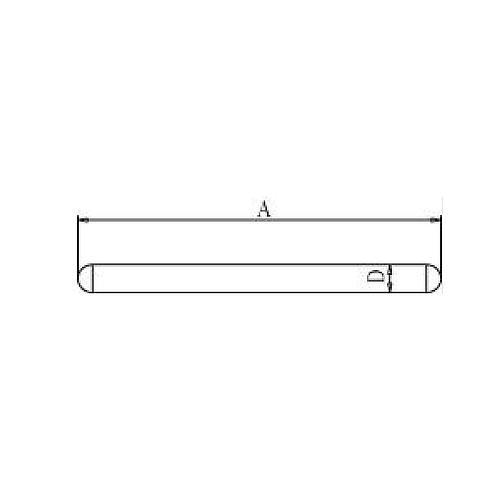Tige pour socle - 500 mm