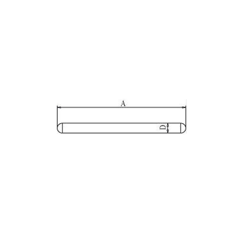 Tige pour socle - 750 mm
