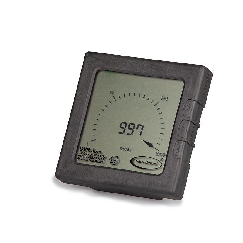 Vacuomètre digital ATEX DVR 3 Pro - Vacuubrand