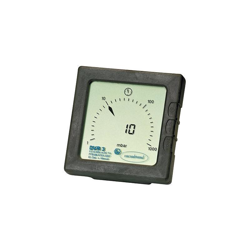 Vacuomètre digital DVR 3 - Vacuubrand