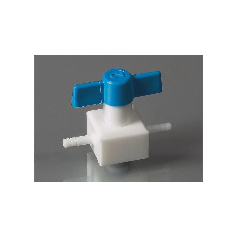 Vanne PTFE 3 voies - 4.5mm - Bürkle